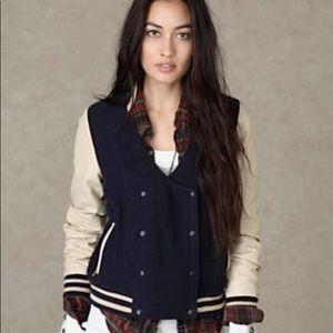 ✨FREE PEOPLE✨ Varsity Jacket